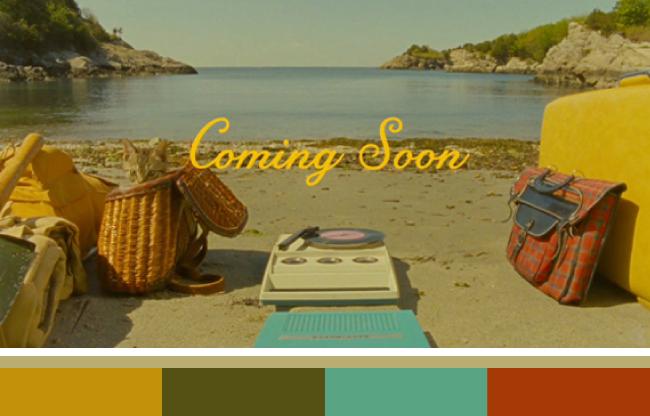Wes Anderson Color Palettes Blog The House Painters