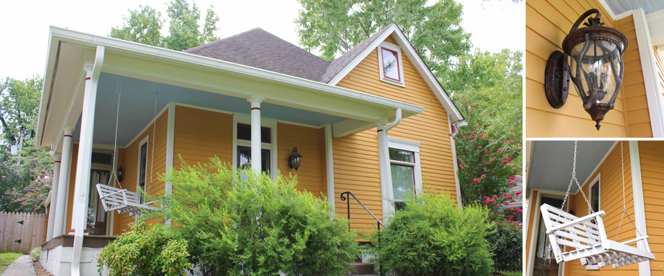 Exterior painting nashville the house painters - Pictures of exterior painted homes pict ...