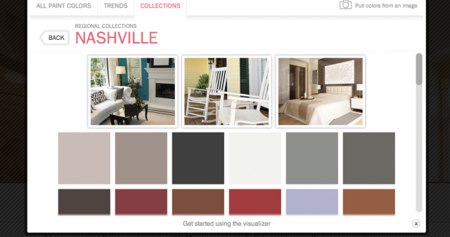 nashville color trends