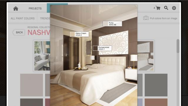 nashville bedroom color trend