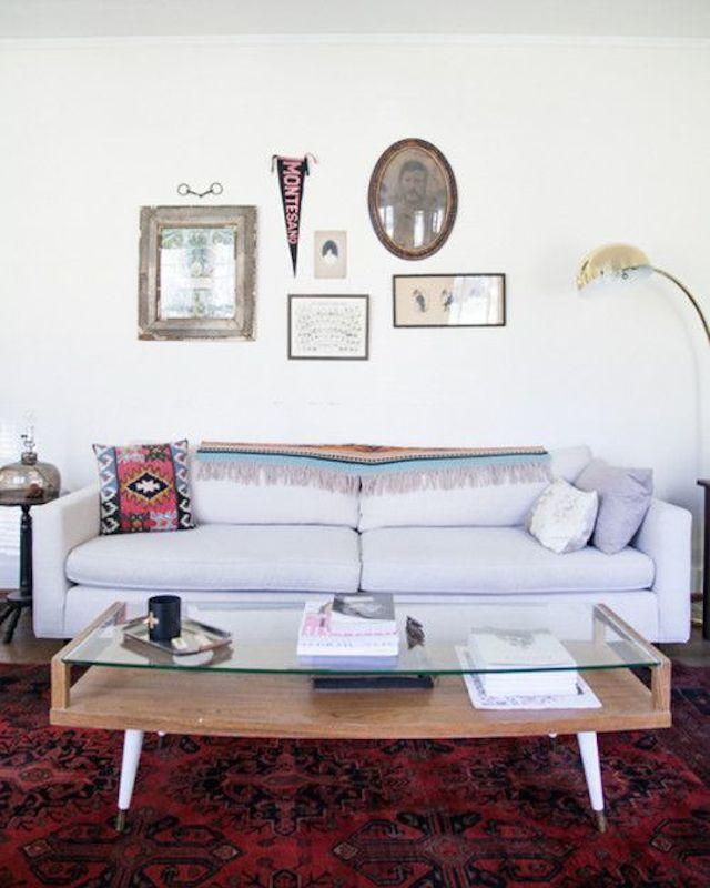 Nashville white living room