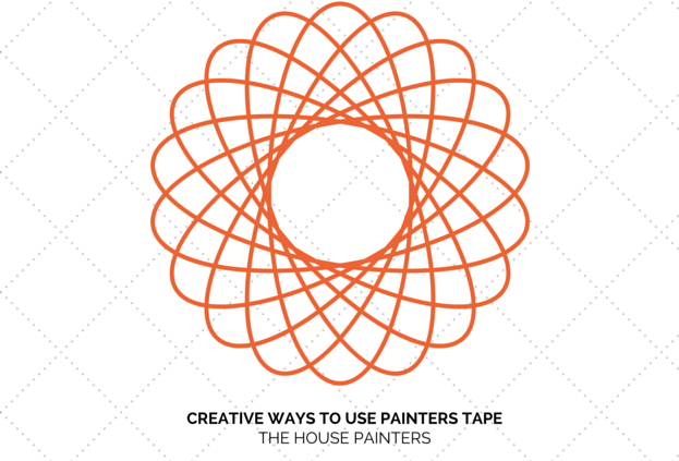 creative ways to use painters tape