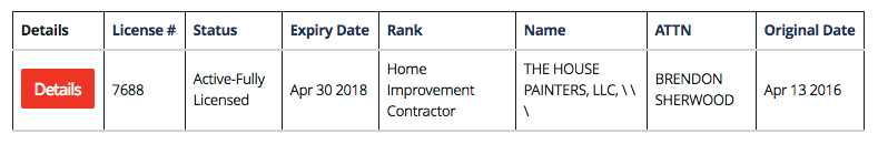 tn contractor license lookup step 3